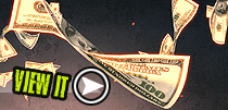 Free money video background